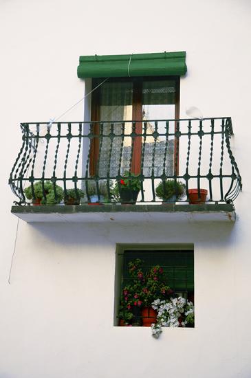 Balcón alegre